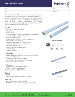 Ares T8 LED Tube