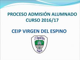 Diapositiva 1 - CEIP Virgen del Espino, Membrilla (Ciudad Real)
