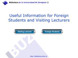 Presentación de PowerPoint - Biblioteca de la Universidad de