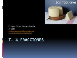 T. 4 Fracciones