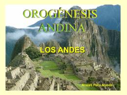 (los Andes).