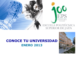 Presentación promocional EPSJ (Actualizada)