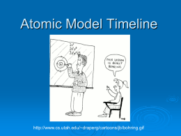 Atomic Structure Timeline Powerpoint
