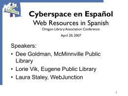 Cyberspace en Español