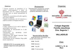 Diapositiva 1 - Escuelas Católicas Castilla y León