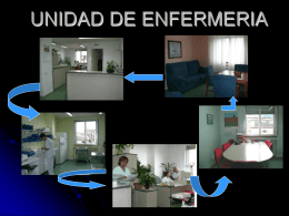 UNIDAD DE ENFERMERIA