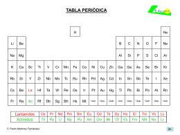 tabla peridica - Tabla Periodica Con Numeros De Oxidacion