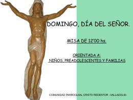 ¡¡¡ BIENVENIDOS!!! - Parroquia Cristo Redentor