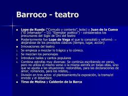 Barroco - teatro