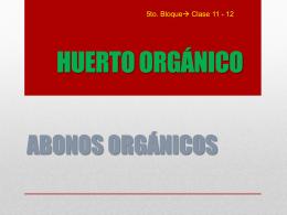 CAPACITACIÓN DE ABONOS ORGANICOS