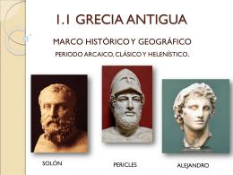 1.1 GRECIA ANTIGUA - LA SONRISA ARCAICA