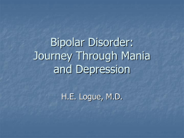 Bipolar Disorder: Journey Through Mania and