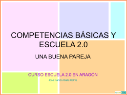 COMPETENCIAS BÁSICAS Y TIC