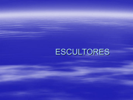 Escultores - WordPress.com