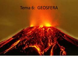 Tema 6: GEOSFERA