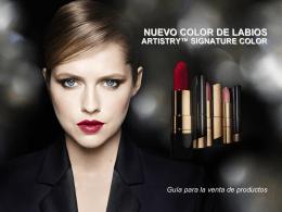 NUEVO COLOR DE LABIOS ARTISTRY™ SIGNATURE