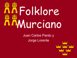 Folklore Murciano