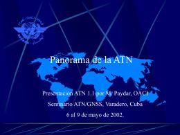 CAR/SAR ATN/GNSS Seminar / Seminario ATN/GNSS CAR
