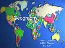Geography - Wright State University