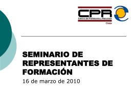presentacion_representantes - Centro de Profesores y Recursos