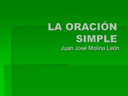la oración simple - Letras y libros (3º ESO. Colegio Altair. Sevilla)