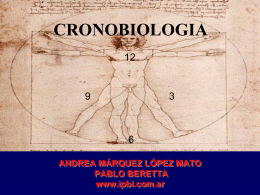 Cronobiologia 2015