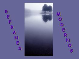 AG2- Refranes modernos