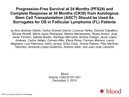 Progression-Free Survival at 24 Months (PFS24