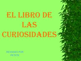 ELLIBRODELASCURIOSIDADES.pps