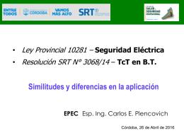 Descargar Presentación - Ministerio de Trabajo de Córdoba