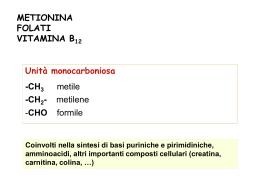 """19_folati__vit_B12_-2011 - Università degli Studi di Roma """"Tor"""