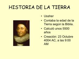 historia de la tierra - IES Mare Nostrum de Alicante