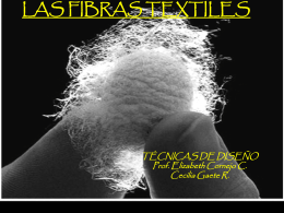 las fibras textiles - corptextilconfeccion