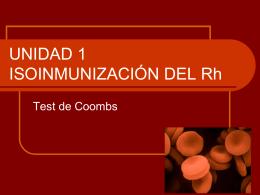 ISOINMUNIZACIÓN DEL Rh