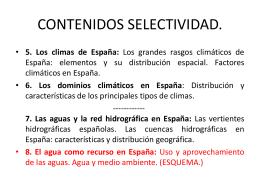 TEMA 3 EL CLIMA EN ESPAÑA - Sociales en el Torre del Rey.