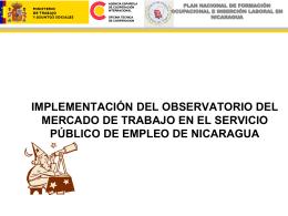 PLAN NACIONAL DE FORMACIÓN OCUPACIONAL E INSERCIÓN