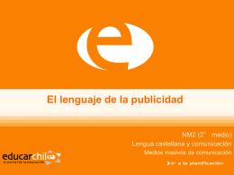 El lenguaje de la publicidad - Sector Lenguaje y Comunicación
