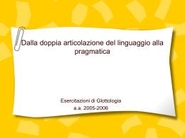 """Presentazione di PowerPoint - Università degli Studi di Roma """"Tor"""