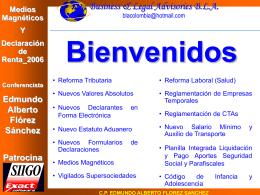 Medios Magnéticos Y Declaración de Renta_2006 Conferencista