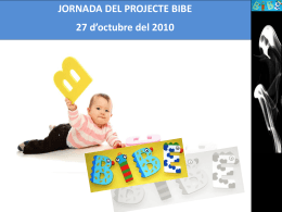 Presentació Jornada BIBE Estela i Cristina