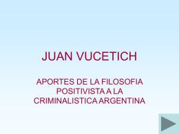 juan vucetich - WordPress.com