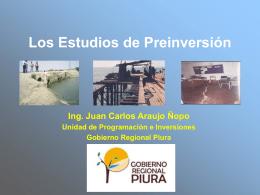 Presentación de PowerPoint - Gobierno regional de Piura