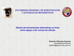 Diapositiva 1 - Departamento de Matemáticas