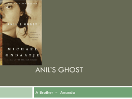 Anil`s Ghost
