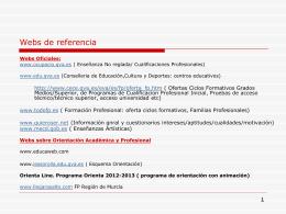 Webs_Referencia_Orientacion
