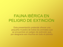 Fauna Ibérica - WordPress.com
