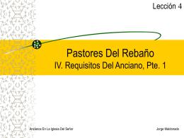 Pastores Del Rebaño IV - Compra la Verdad y no la Vendas