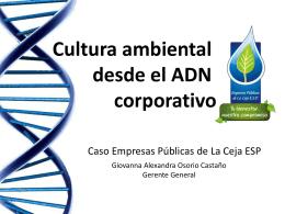 Presentación de PowerPoint - Empresas Públicas de La Ceja ESP