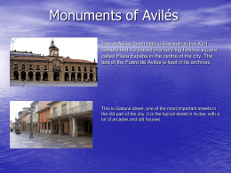 Monuments of Avilés
