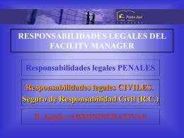 responsabilidades legales del facilities manager